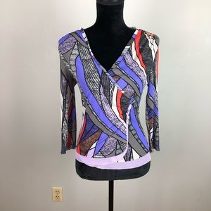 Ideology printed blouse SZ Small